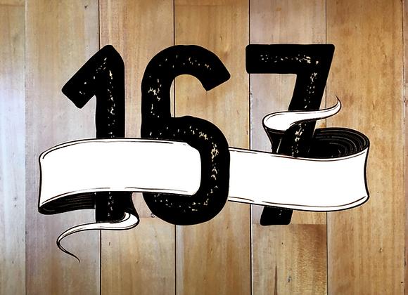 167 Black Milk House blend coffee beans