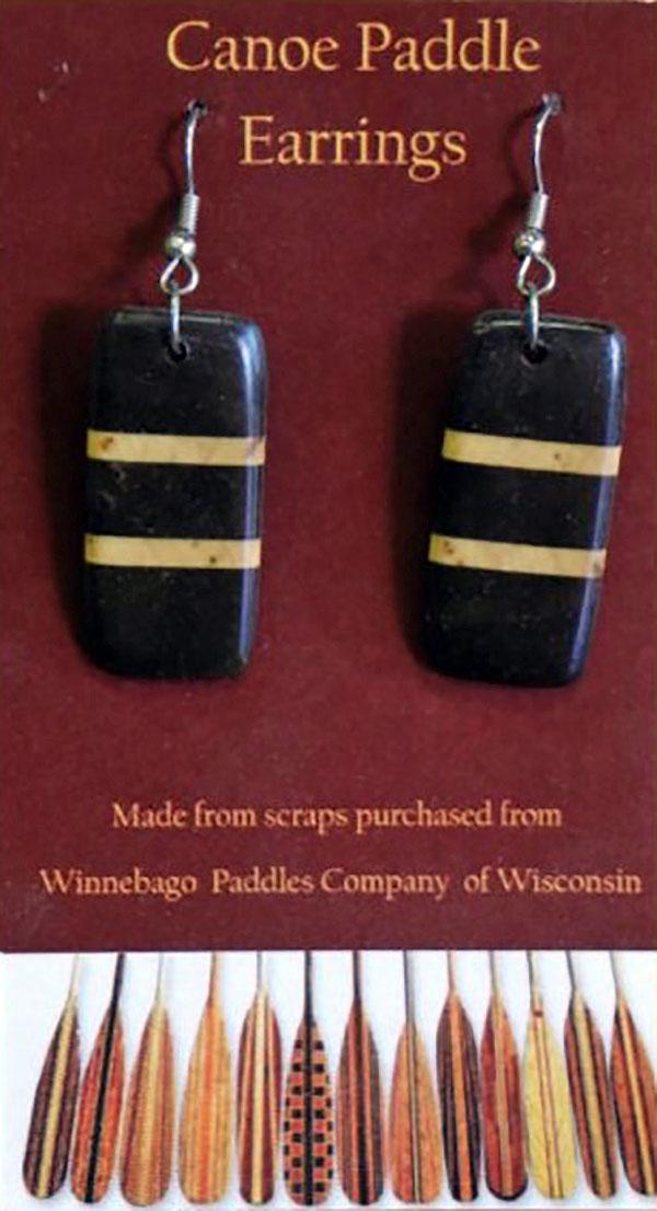 winnebago-canoe-paddle-earrings