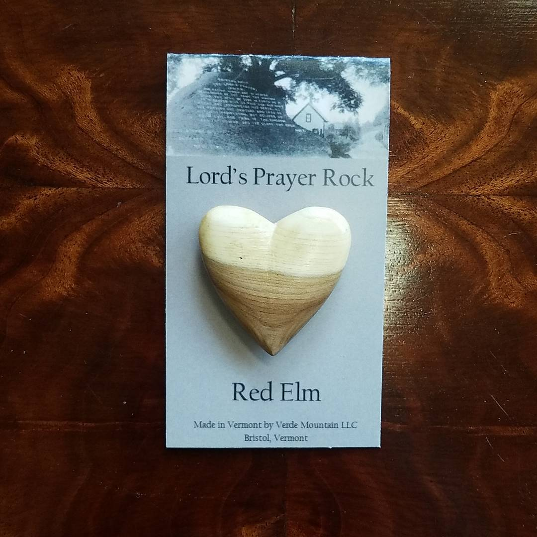 Lord's Prayer Rock Red Elm