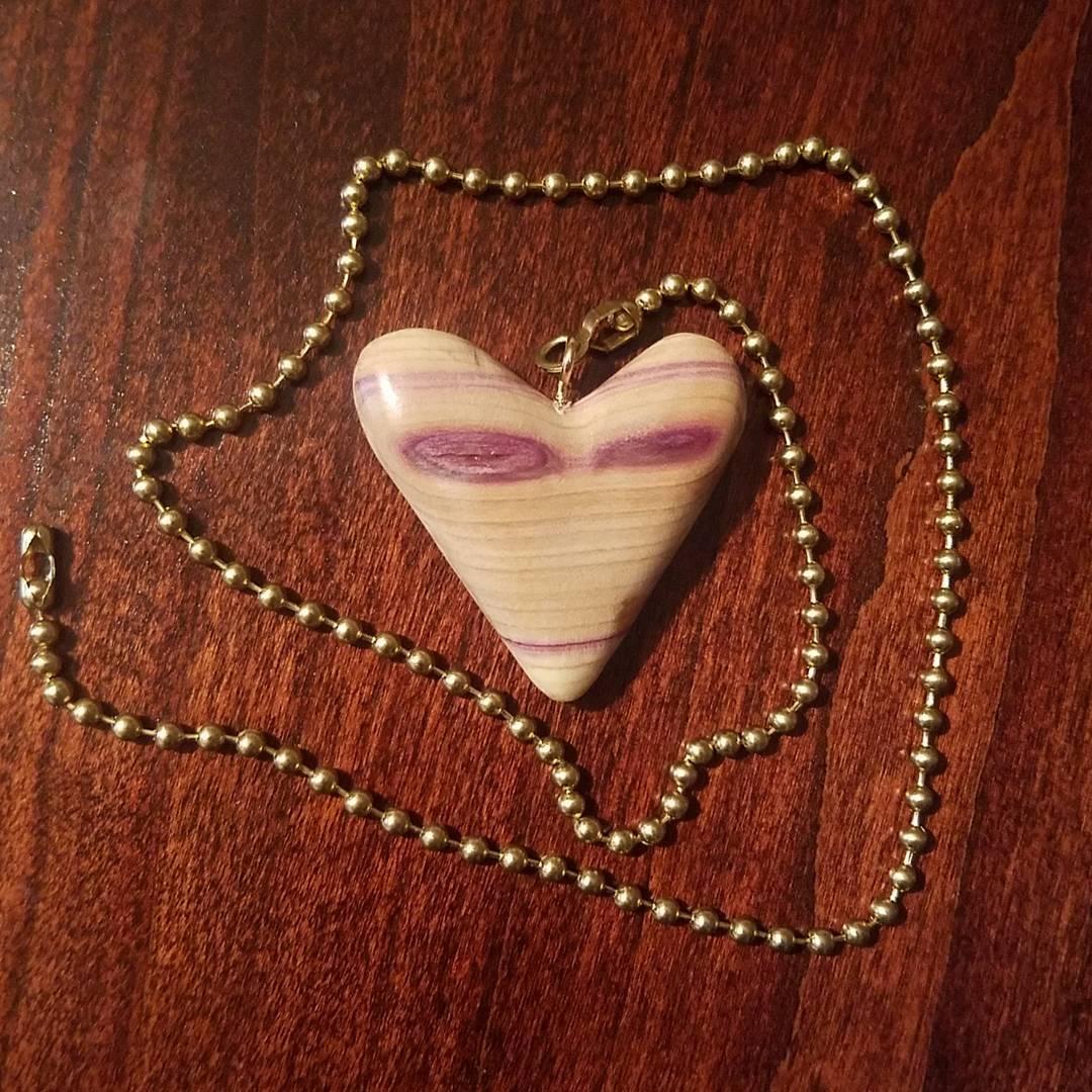 lilac wood fan pull