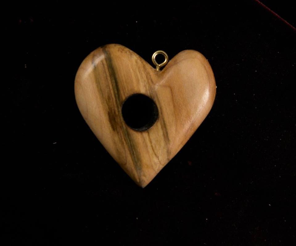 Tap Maple Heart ornament