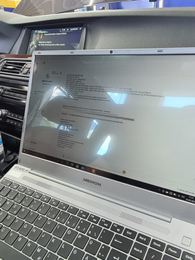 BMW M550D mapping