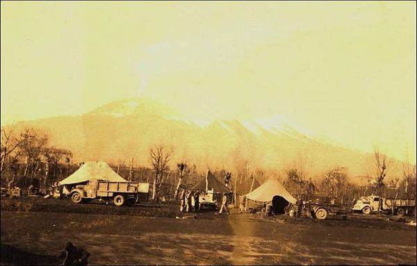 486th camp at pompeii jan44 until erupti
