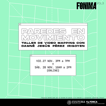 TALLER Paredes en movimiento