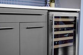 Wine fridge in a kitchen.jpg