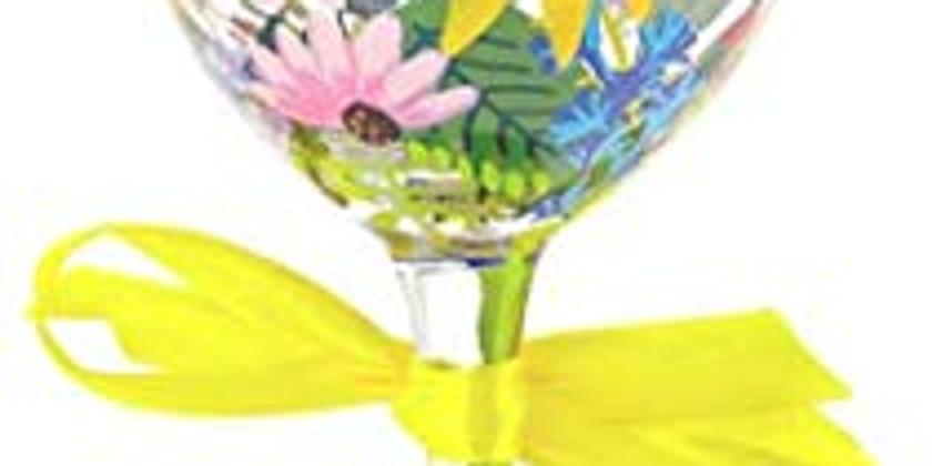 Friday Wine Glass Painting for Men & Women