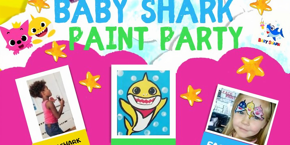 BABY SHARK PAINT PARTY