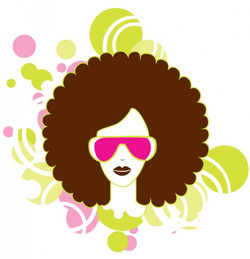woman-with-afro-and-pink-glasses_244-2147487837