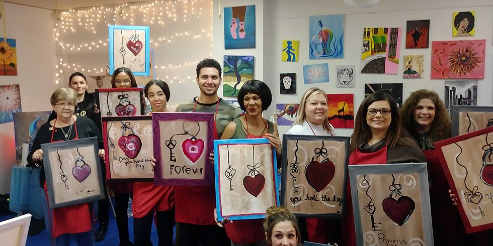 THRIFTY THURSDAY NIGHT PAINT PARTY &  GROUPON