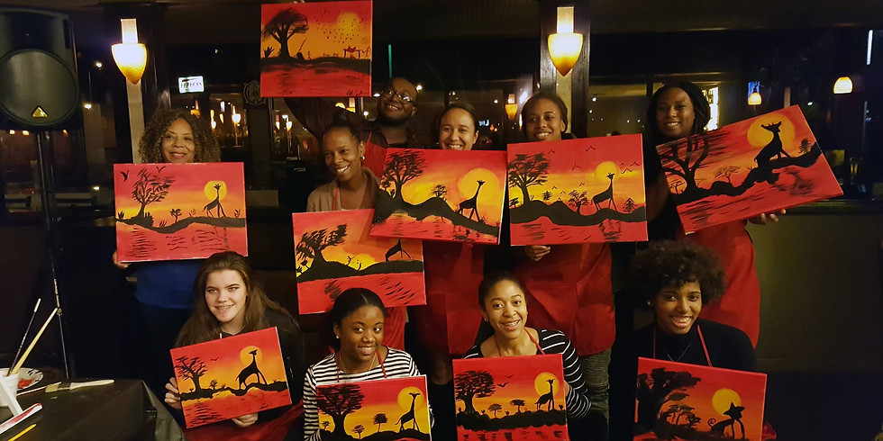Friday Night Live Paint Party  & Open Studio Paint  (1)