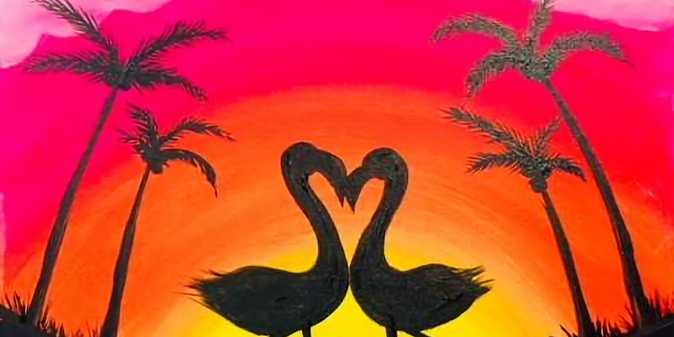 Evening couples paint or single
