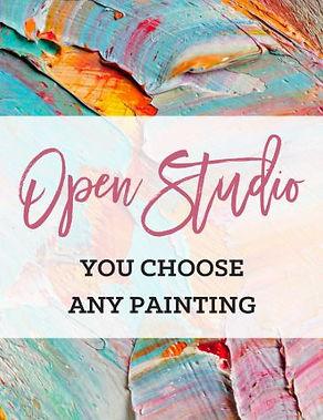 open studio you pick your painting.JPG