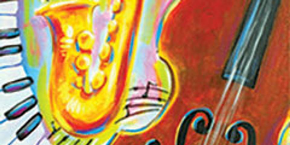 Paint Jazz Evening- Patio Paint