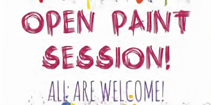 OPEN PAINT- come and join the paint fun!!