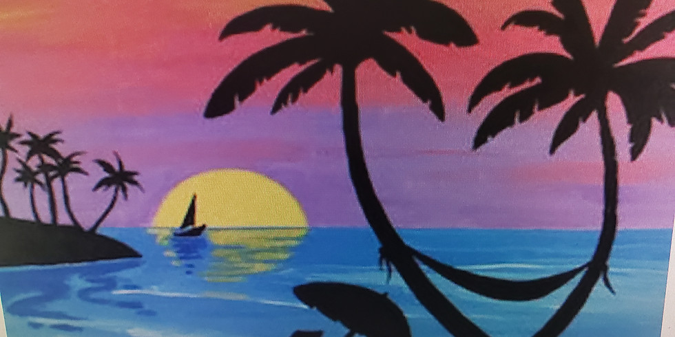 Saturday Night Studio Paint