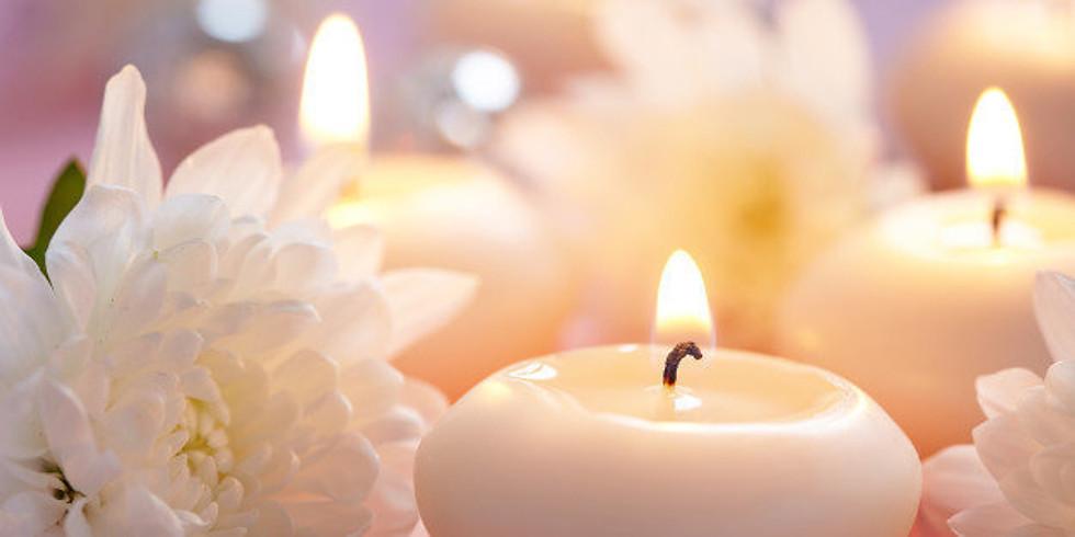 Candles, Canvas & Mimosa Bar