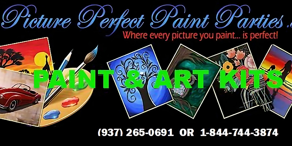 VIRTUAL PAINT PARTY - WE FURNISH SUPPLIES