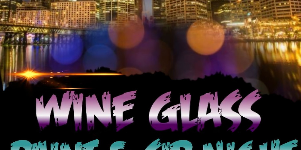 Wine Glass Painting for Men & Women
