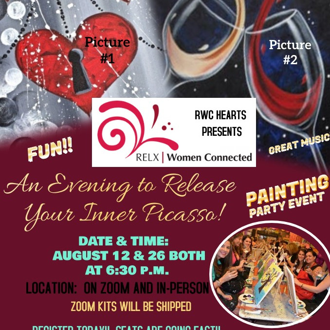 """RWC HEARTS PRESENTS """"ALLOW YOUR INNER PICASSO TO FLOW"""""""