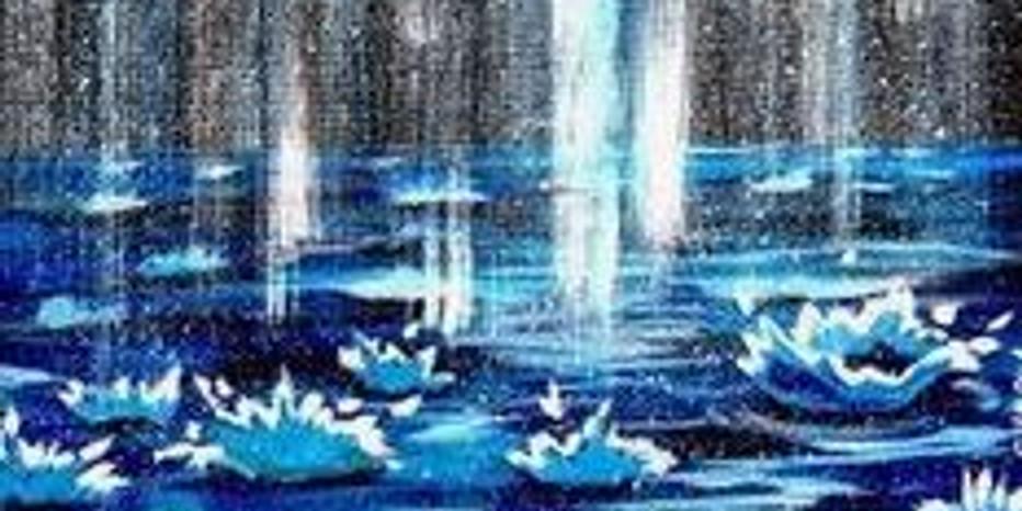 FRIDAY NIGHT PAINT - FALLING RAIN BY A.SHERPA