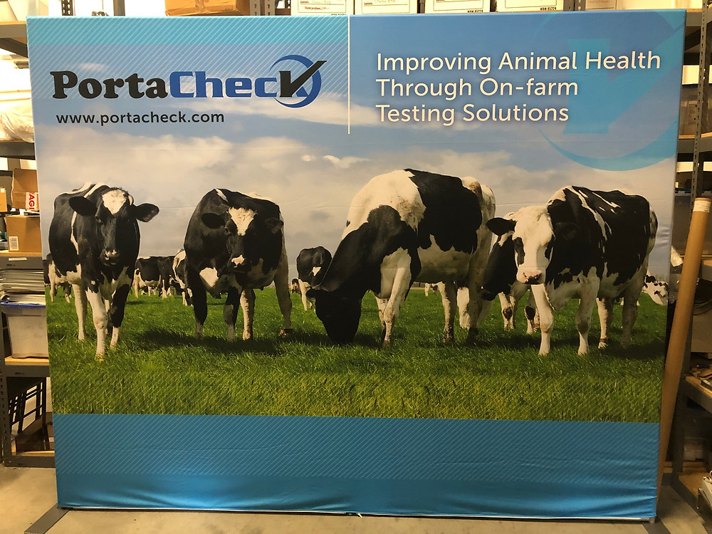 PortaCheck, mastitis, ketosis, BHB, beta-hydroxybutyrate, glucose, on-farm test, PortaBHB, SCC, somatic cell count, diagnostic, udder health, IgG, passive transfer, UdderCheck, Scours, Rainbow Scours test, calf, trade show, world dairy expo, milk, cow, dairy, testing, bovine