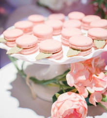 pink candies for baby shower