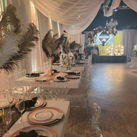 40th birthday gatsby themed party