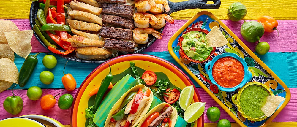 colorful-mexican-food