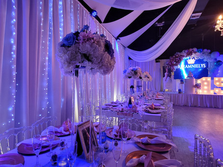 Tips to plan your Quinceanera Party 👑