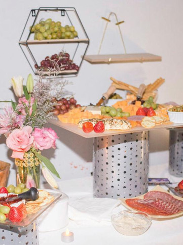 table with snacks baby shower in Kendall Miami