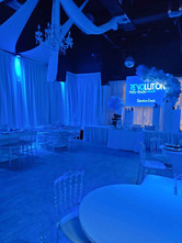 banquet hall in miami decorated for baby shower