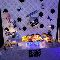 catering table for children's themed party in miami