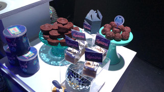 40th birthday brownies table catering service