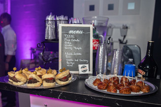 meat snack table catering service