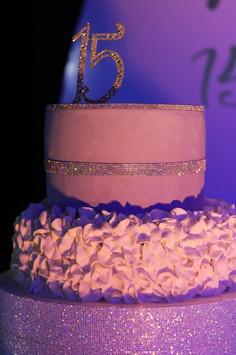 15th birthday cake
