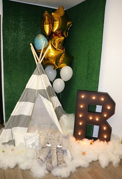 camping theme decoration for baby shower