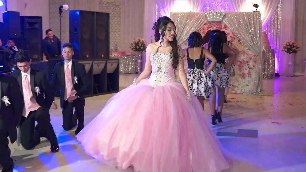birthday-girl-pink-dress-15th-birthday