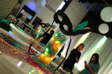 Banquet hall carnival themed