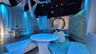 banquet hall in miami for blue wedding