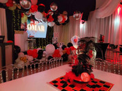 Casino themed party venue