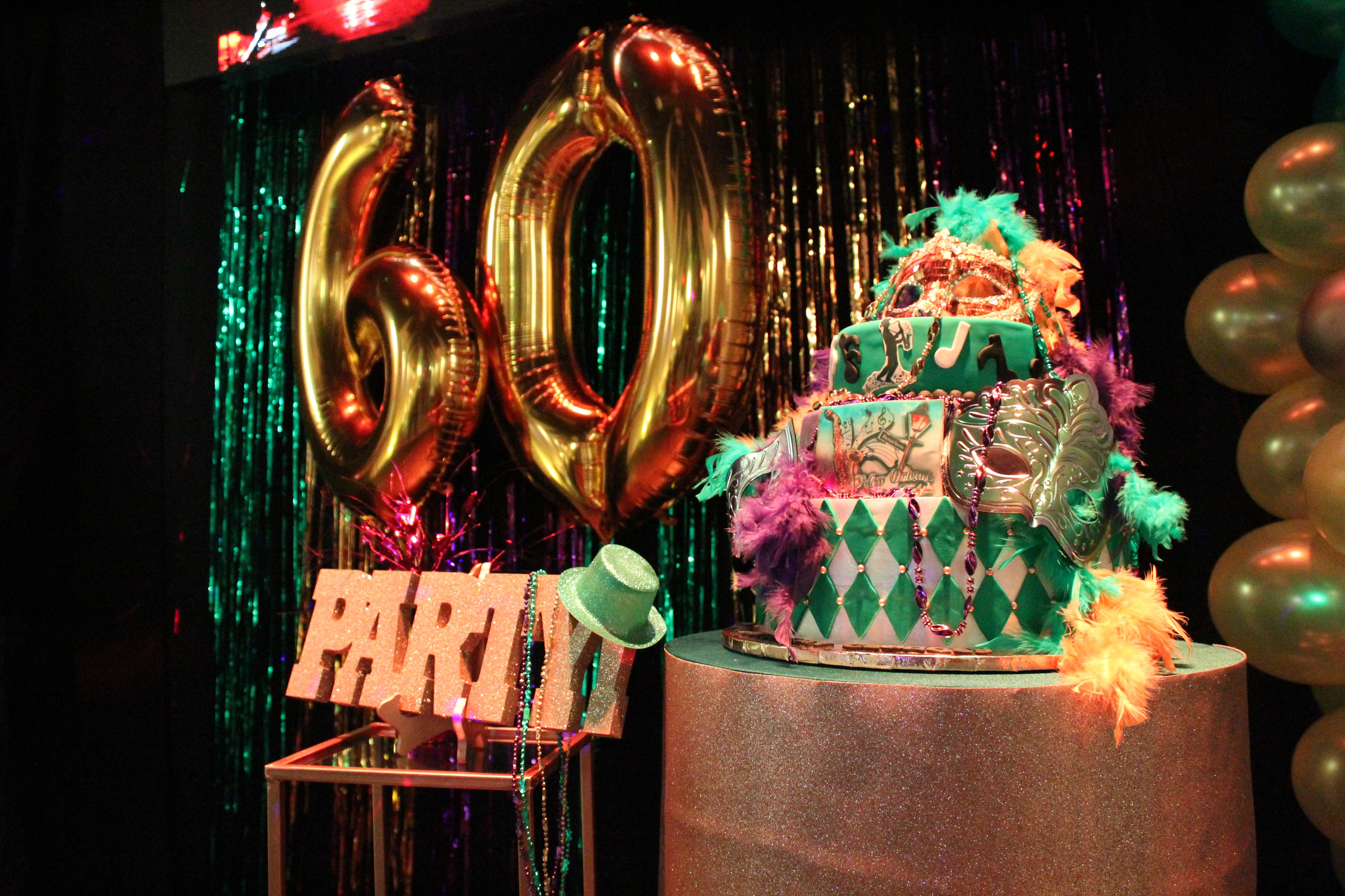 60 birthday party in Kendall Miami