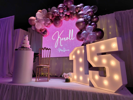 The best Quinceanera Party Decorating Ideas 🎈