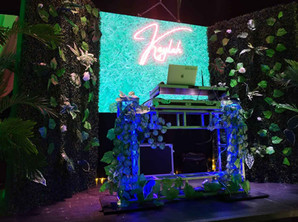 30th birthday with jungle theme at event venue