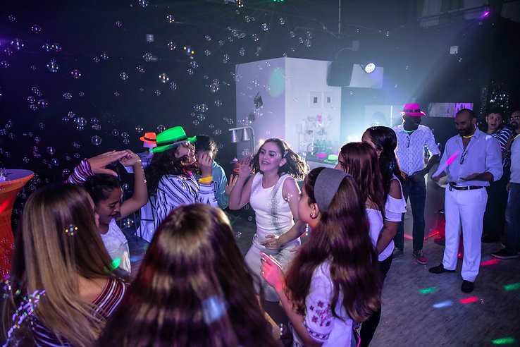 teen party in event venue in miami