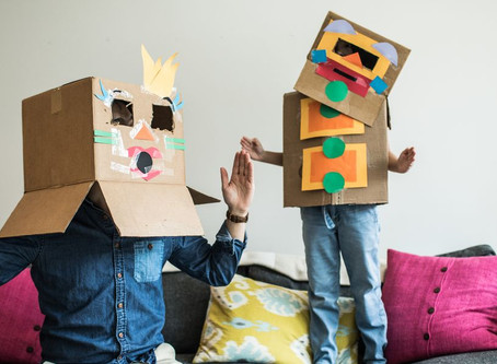 How to make crafts with childrens at home ✂️ 📦