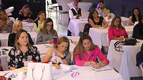 conference at event venue in miami