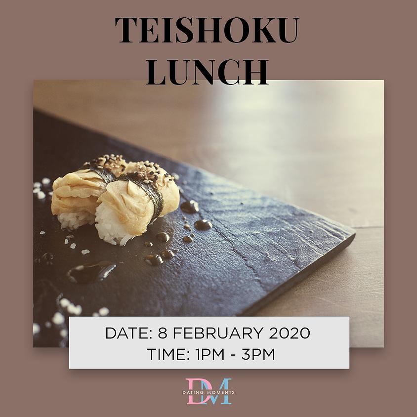 LAST SLOTS FOR LADIES! Teishoku Lunch