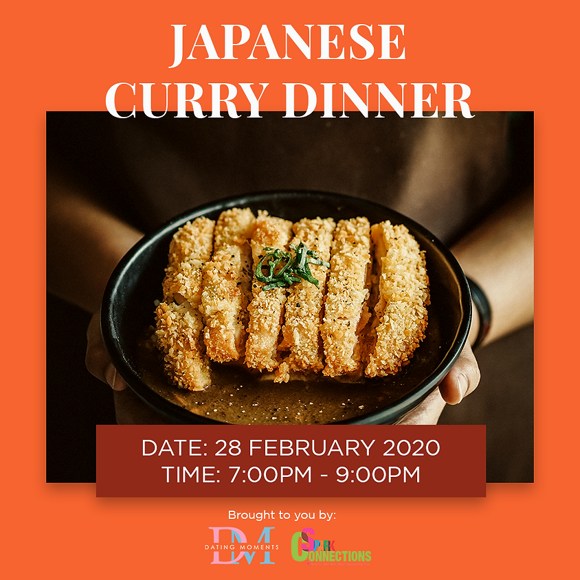 Japanese Curry Dinner (50% OFF)