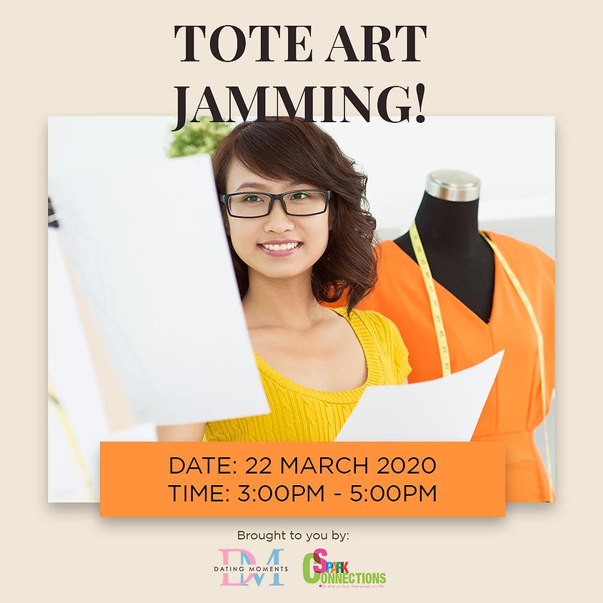 Tote Art Jamming! (50% OFF)