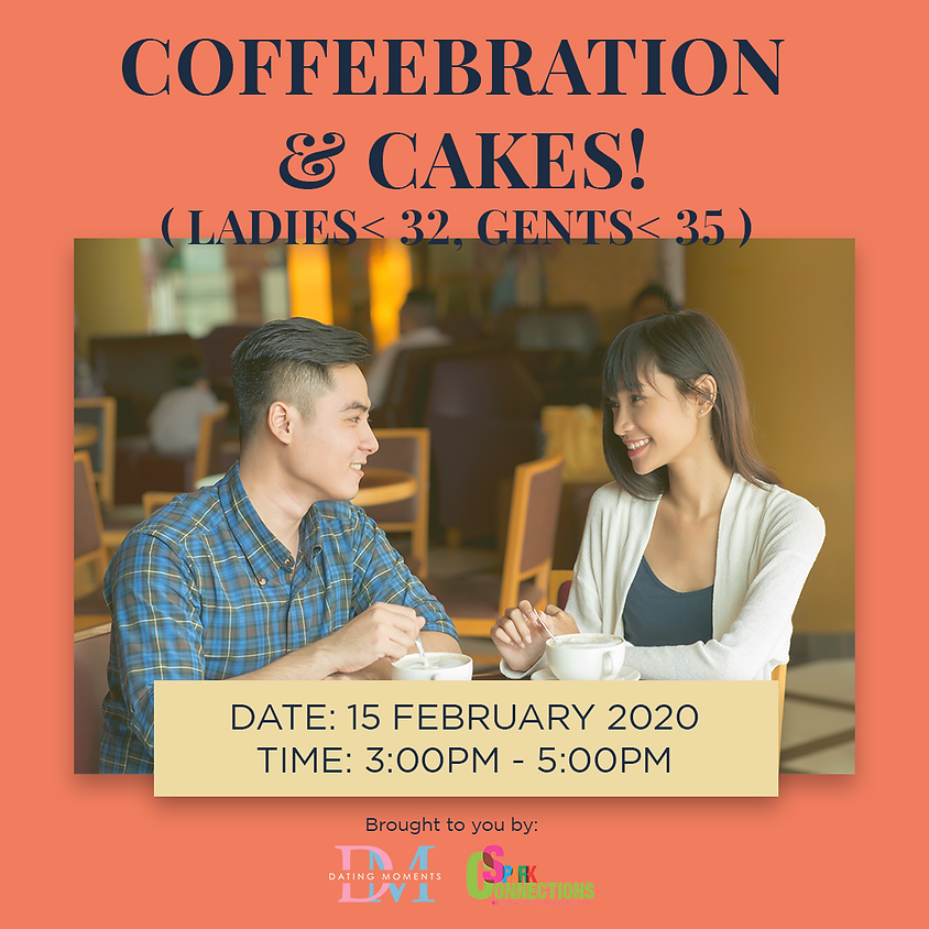 LAST 3 SLOTS FOR LADIES! Coffeebration and Cakes!  ( For ladies < 32, Males < 35 ) (50% OFF)